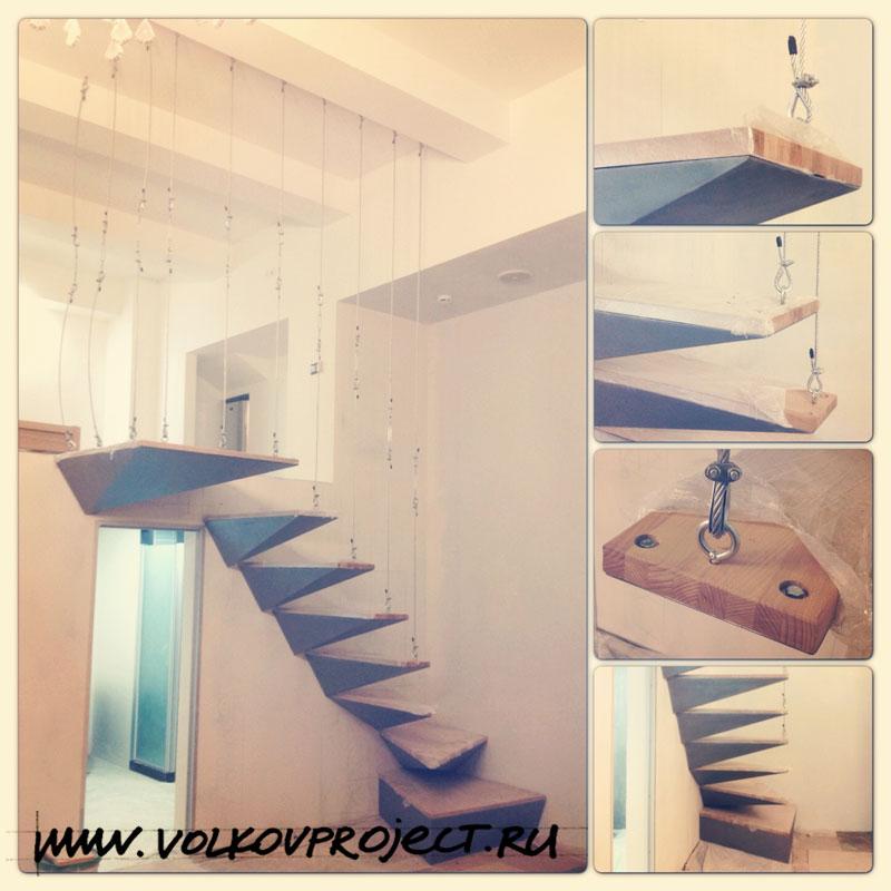 Металлическая лестница, лофт, фото