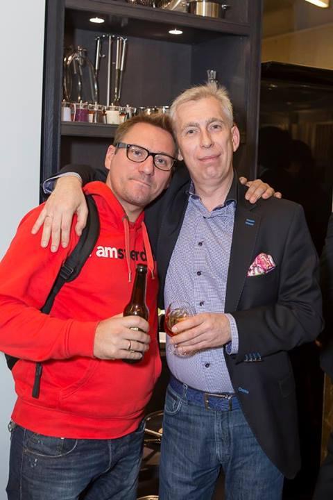 Андрей Волков (ВОЛКОВproject) и Андрей Комаров (KONZEPT)