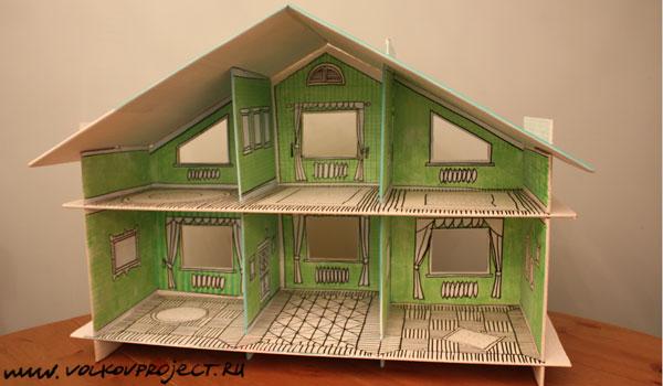 Кукольная мебель для домика своими руками