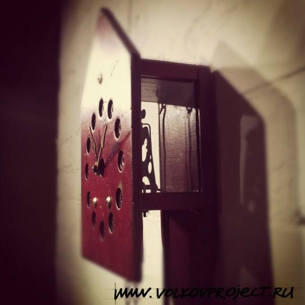 """дизайнерские часы от """"ВОЛКОВproject"""", автор архитектор Андрей Волков"""