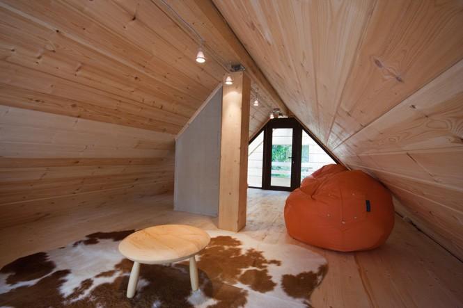 Дизайн крыши бани
